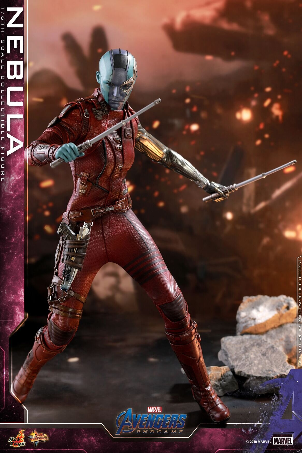 [Hot Toys] 어벤져스 : 엔드게임 네뷸라 MMS534 - 1/6th scale Nebula Collectible Figure
