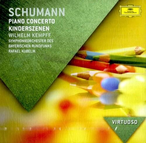 [수입] 슈만: 피아노 협주곡, 어린이 정경