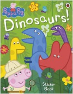 Peppa Pig: Dinosaurs! Sticker Book (Paperback)