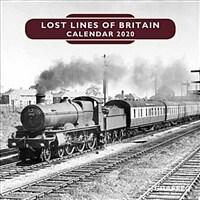 Lost Lines of Britain Calendar (Calendar)