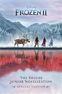 Frozen 2: The Deluxe Junior Novelization 겨울왕국2 주니어 노벨 (Hardcover)