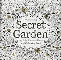 Secret Garden : An Inky Treasure Hunt (Paperback)