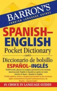 Barron's Spanish-English Pocket Dictionary/Diccionario de Bolsillo Espanol-Ingles (Paperback)
