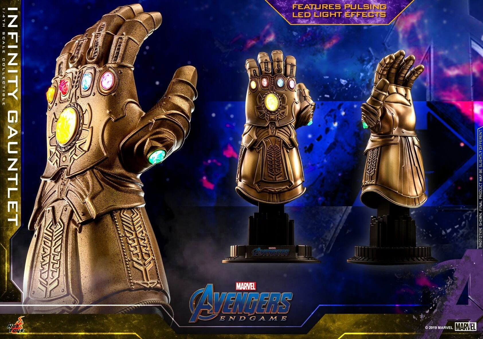 [Hot Toys] 어벤져스 : 엔드게임 인피니티 건틀렛 ACS007 - 1/4th scale Infinity Gauntlet Collectible