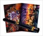 마블 어벤져스 인피니티 워 포스터 컬렉션 (5장 + 지관통)