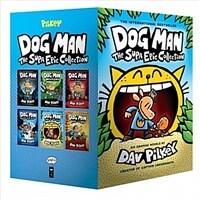 Dog Man #1-6 Boxed Set : 도그맨 6권 박스세트 (Hardcover 6권)