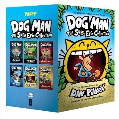 Dog Man #1-6 Boxed Set : 도그맨 6권 박스세트 (Hardcover)