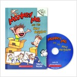 MONKEY ME #3 : MONKEY ME AND THE NEW NEIGHBOR (Paperback + CD)