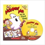 MONKEY ME #4 : MONKEY ME AND THE SCHOOL GHOST (Paperback + CD)