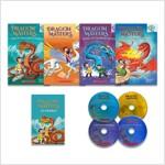 Dragon Masters 4종 세트 (Paperback 4권 + CD 4장 + Word book 1권)