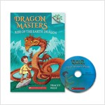 DRAGON MASTERS #1 : RISE OF THE EARTH DRAGON (Paperback + CD, New)