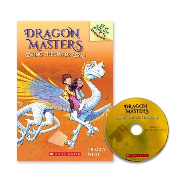 DRAGON MASTERS #2:SAVING THE SUN DRAGON (Paperback + CD)