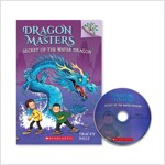 DRAGON MASTERS #3 : SECRET OF THE WATER DRAGON (Paperback + CD, New)