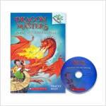 DRAGON MASTERS #4 : POWER OF THE FIRE DRAGON (Paperback + CD, New)