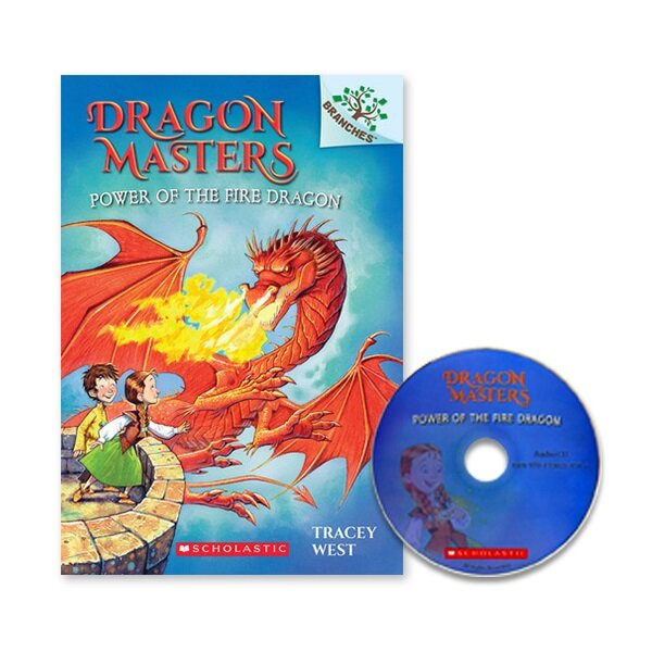 DRAGON MASTERS #4:POWER OF THE FIRE DRAGON (Paperback + CD)