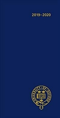 Oxford University Pocket Diary 2019-2020 (Hardcover)