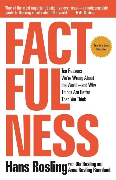 Factfulness: Ten Reasons Were Wrong about the World-And Why Things Are Better Than You Think (Paperback)