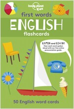 First Words - English 1 [Flashcards] (Boxed Cards)