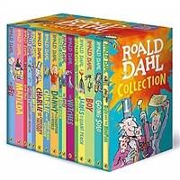 로알드달 베스트 16종 박스 세트 Roald Dahl Collection Boxed Set (Paperback 16권, 영국판, NEW edition)