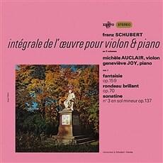 [수입] 슈베르트 : 바이올린과 피아노을 위한 작품 1집 [180g LP]