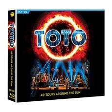 [수입] Toto - 40 Tours Around The Sun [2CD+BLU-RAY] [DIGIPACK]