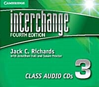 Interchange Level 3 Class Audio CDs (3) (CD-Audio, 4 Revised edition)