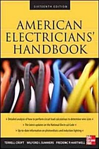 American Electricians Handbook, Sixteenth Edition (Hardcover, 16, -100th Annivers)