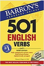 501 English Verbs [With CDROM] (Paperback, 3)