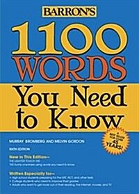 1100 Words You Need to Know (Paperback, 6)