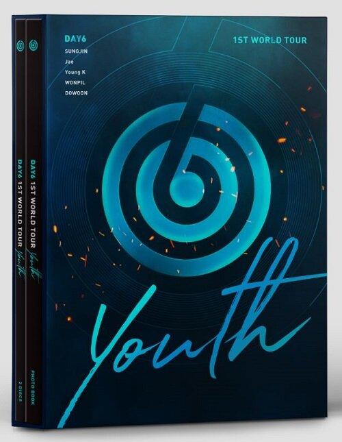 데이식스 - DAY6 1ST WORLD TOUR Youth DVD (2disc)