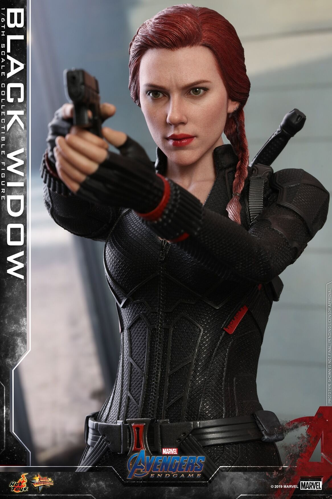 [Hot Toys] 어벤져스 : 엔드게임 블랙 위도우 MMS533 - 1/6th scale Black Widow Collectible Figure