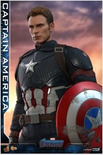 [Hot Toys] 어벤져스 : 엔드게임 캡틴 아메리카 MMS536 - 1/6th scale Captain America Collectible Figure
