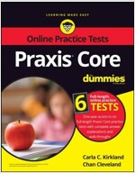 Praxis Core for Dummies with Online Practice Tests (Paperback, 3)