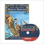 Merlin Mission #25 : Shadow of the Shark (Paperback + CD)