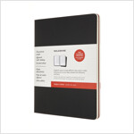 Moleskine Subject Cahier Journal, Extra Large, Black, Cranberry Red (7.5 X 9.75) (Other)
