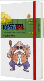 Moleskine Limited Edition Dragonball Notebook, Large, Dotted, Master Roshi (5 X 8.25) (Hardcover)