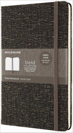 Moleskine Blend Limited Collection Notebook 2019, Large, Ruled, Brown (5 X 8.25) (Hardcover)