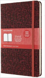 Moleskine Blend Limited Collection Notebook 2019, Large, Ruled, Red (5 X 8.25) (Hardcover)