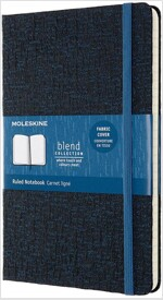 Moleskine Blend Limited Collection Notebook 2019, Large, Ruled, Blue (5 X 8.25) (Hardcover)