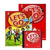 Lets Go 1 Set (Student Book + Workbook + Audio CD, 4th Edition)