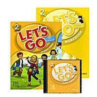 Lets Go 2 Set (Student Book + Workbook + Audio CD, 4th Edition)