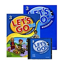 Lets Go 3 Set (Student Book + Workbook + Audio CD, 4th Edition)