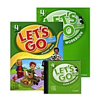 Lets Go 4 Set (Student Book + Workbook + Audio CD, 4th Edition)