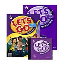 Lets Go 6 Set (Student Book + Workbook + Audio CD, 4th Edition)