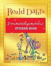 Roald Dahls Scrumdiddlyumptious Sticker Book (Paperback, CSM, STK)