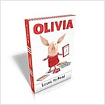 Olivia Loves to Read: Olivia Trains Her Cat; Olivia and Her Ducklings; Olivia Takes a Trip; Olivia and the Snow Day; Olivia Plants a Garden; (Boxed Set, Boxed Set)