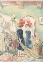 Kiki's Delivery Service Journal: (hayao Miyazaki Concept Art Notebook, Gift for Studio Ghibli Fan) (Journal)