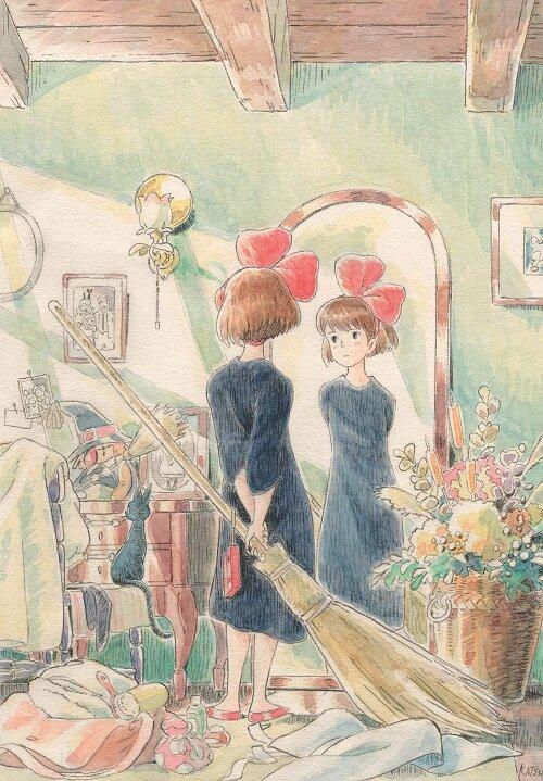 Kikis Delivery Service Journal: (hayao Miyazaki Concept Art Notebook, Gift for Studio Ghibli Fan) (Journal)