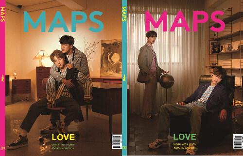 맵스 Maps 2019.6 (표지 : NCT Dream 런쥔.제노, 지성.재민 / 표지 2종 중 1종 랜덤)