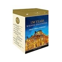 [수입] 빈 국립오페라극장 150주년 - 전설적인 8개의 오페라 실황 [11DVD]